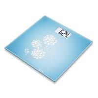 Cantar de sticla Beurer, 150 kg, LCD, design flori