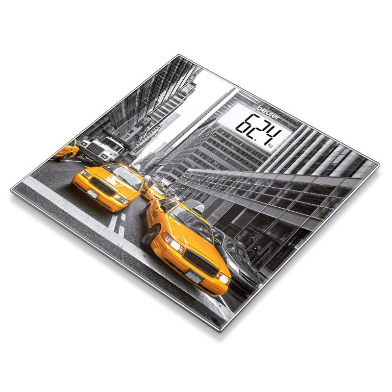 Cantar de sticla Beurer, 150 kg, LCD, model New York 2021 shopu.ro