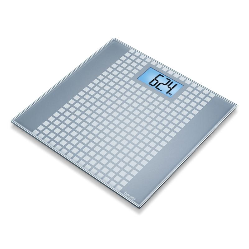 Cantar de sticla GS206 Beurer, 150 kg, LCD, design special 2021 shopu.ro