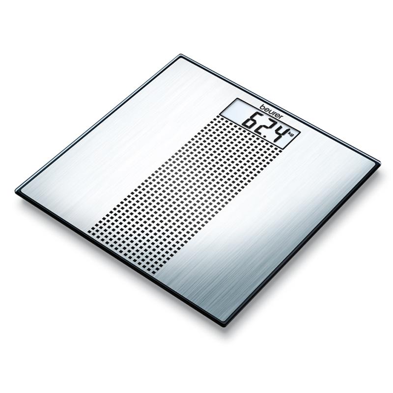 Cantar de sticla Beurer GS36, 150 kg, LCD, baterii incluse