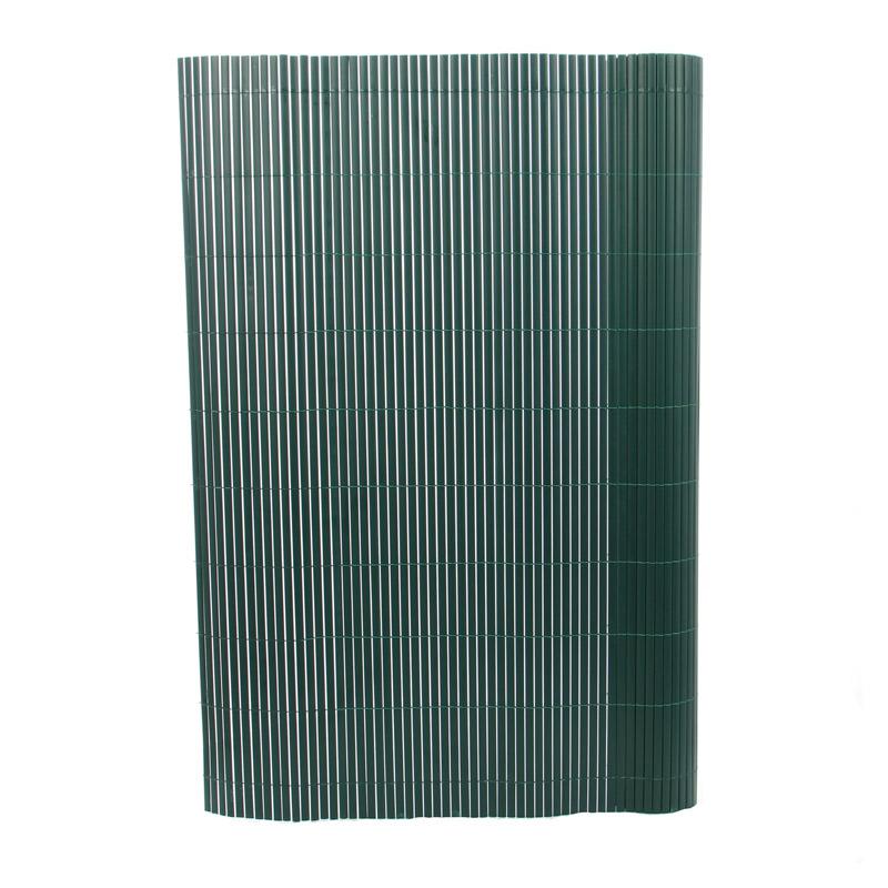 Gard artificial, 100 x 300 cm, model bambus, Verde shopu.ro