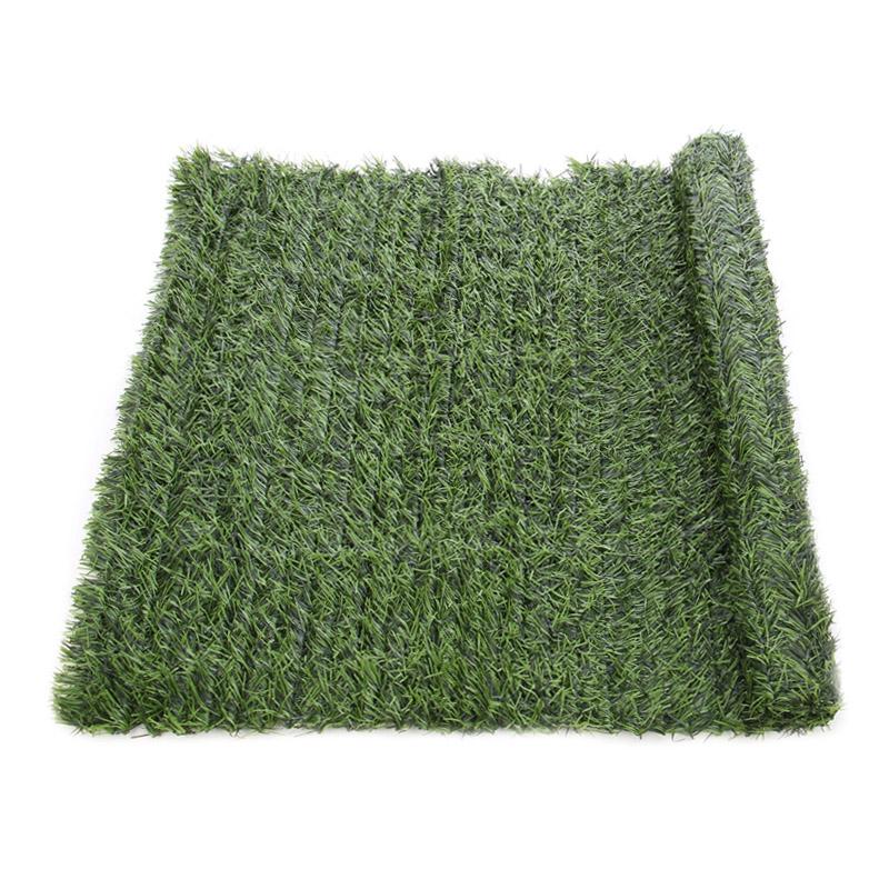 Gard artificial, 100 x 300 cm, textil peliculizat, model conifere shopu.ro