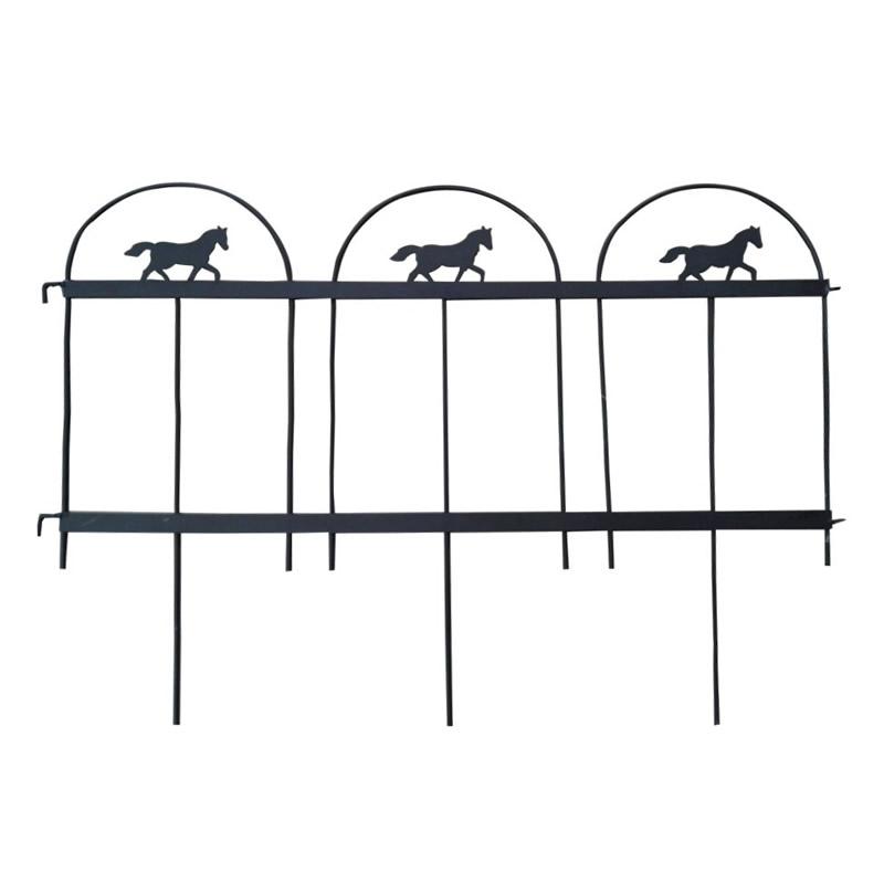 Gardulet decorativ T1 pentru gradina, 61 x 47 cm, metal