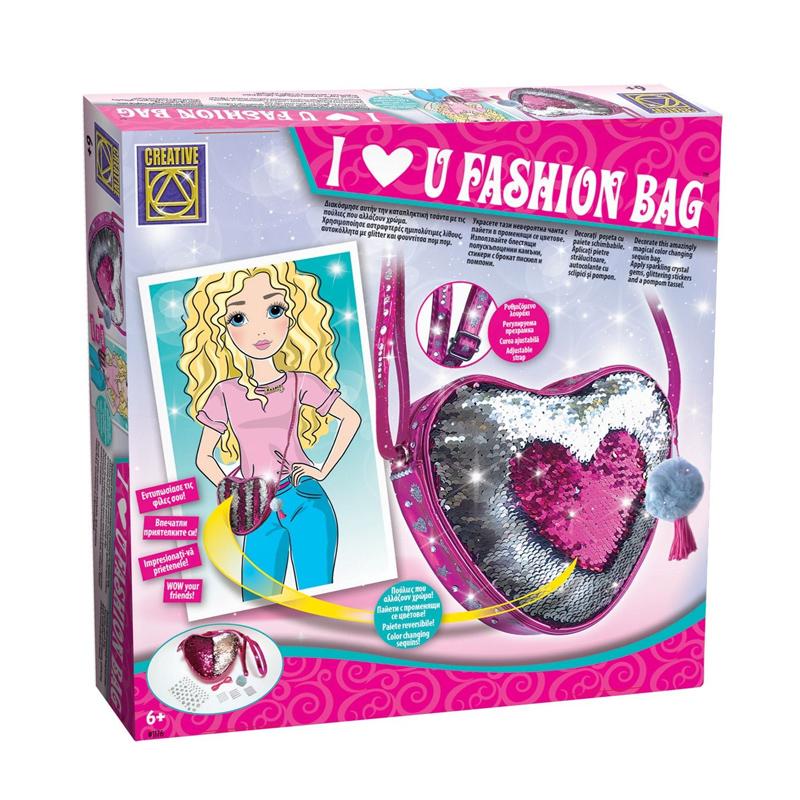 Geanta DIY pentru fetite Paddles Magic Creative, accesorii incluse, 6 ani+ 2021 shopu.ro