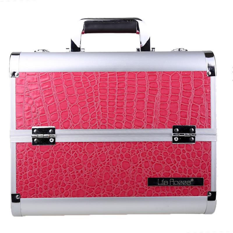 Geanta cosmetica Snake Lila Rossa 6281-PK, roz 2021 shopu.ro