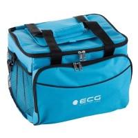 Geanta frigorifica auto termoelectrica ECG, 48 W, 30 l, 12 V, 43 x 34 x 28 cm, Albastru