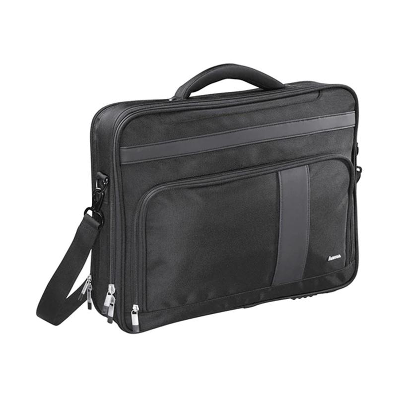 Geanta laptop Dublin I Hama, 15.6 inch, poliester, Negru 2021 shopu.ro