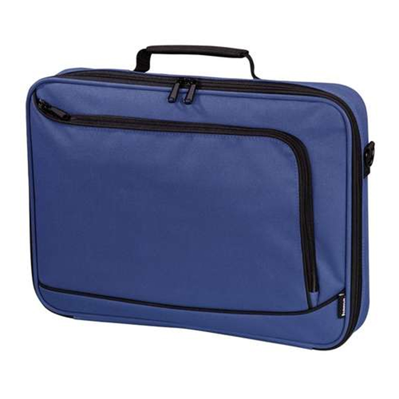 Geanta notebook Sportsline Hama, 15.6 inch, poliester, Albastru 2021 shopu.ro