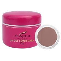Gel UV Oranjollie, 15 g, nuanta Cover Dark