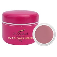 Gel UV Oranjollie, 30 g, nuanta Cover Medium