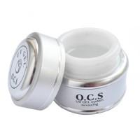 Gel UV pentru unghii 3 in 1 White OCS, 14 g