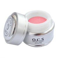 Gel UV pentru unghii 3 in 1 Pink OCS, 14 g