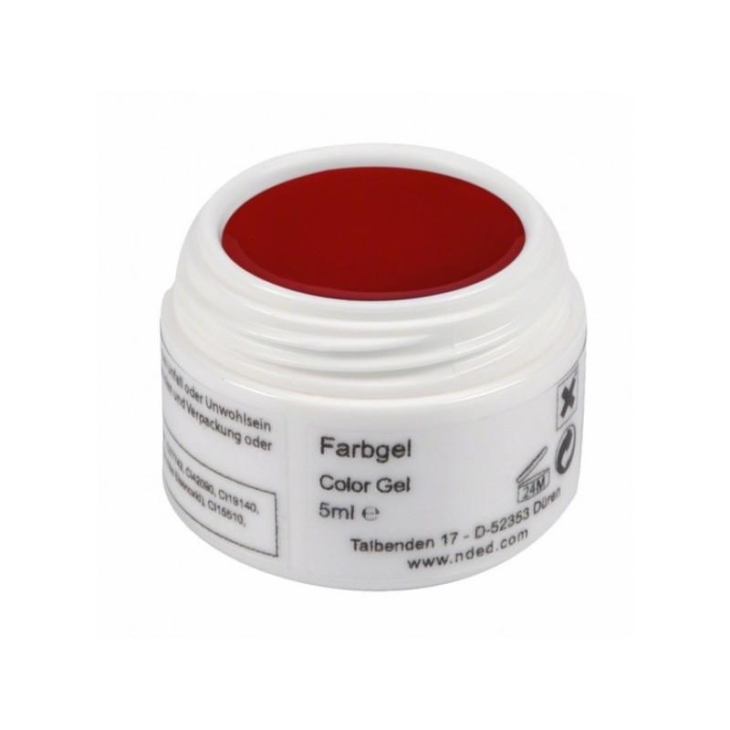 Gel UV rosu cantitate 5 grame