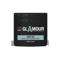 Gel fixare medie cu efect de botox Glamour GEL GLASS, 500 ml