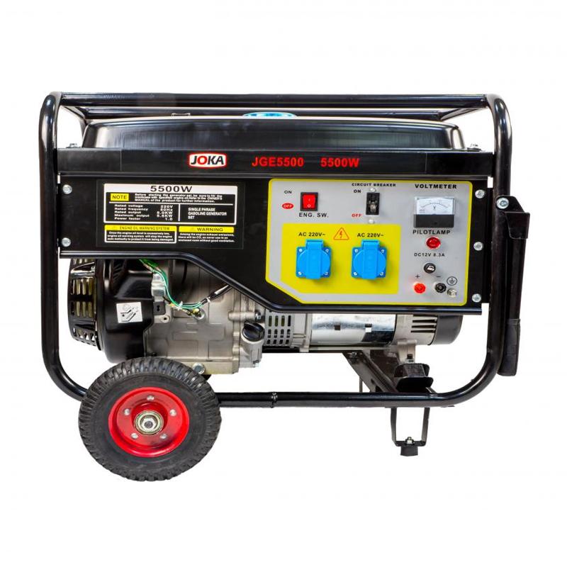 Generator Joka, 25 l, 5.5 KW, pornire electrica/sfoara 2021 shopu.ro