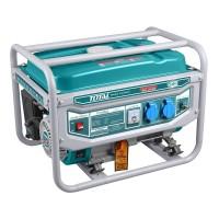 Generator benzina Total, 2800 W, 3000 rpm, 15 l, motor 4 timpi, sistem racire