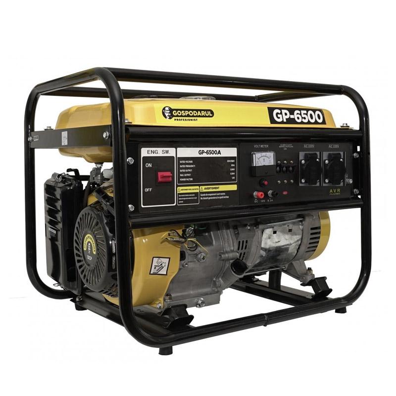 Generator monofazat pe benzina Gospodarul Profesionist, 5500 W, 15 l, 7 CP, 208 CC, motor 4 timpi 2021 shopu.ro