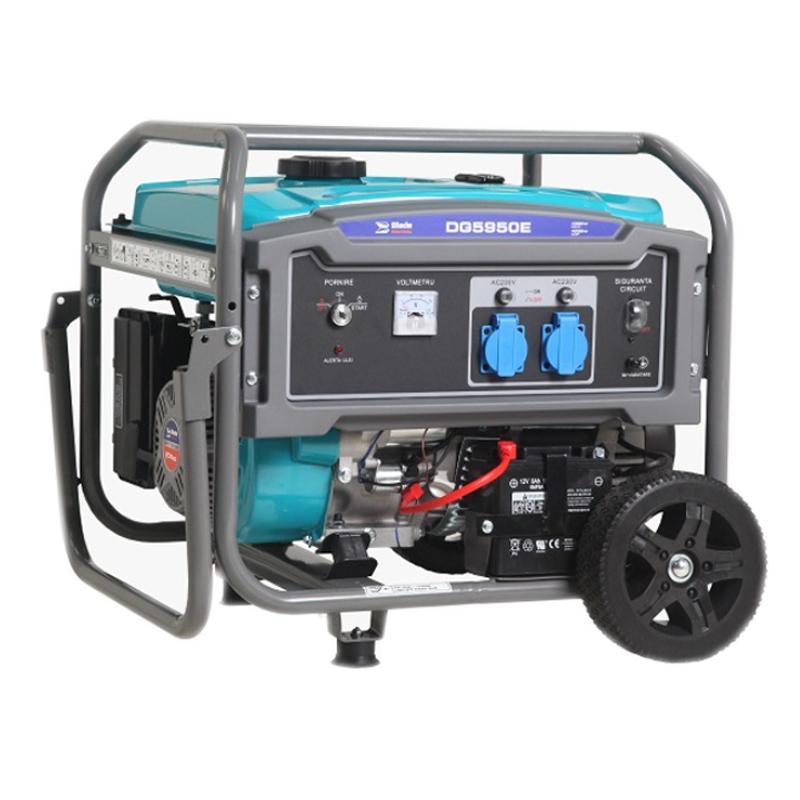 Generator pe benzina Blade Industrial, 4000 W, 15 l, 9 CP, 275 CC, motor 4 timpi 2021 shopu.ro