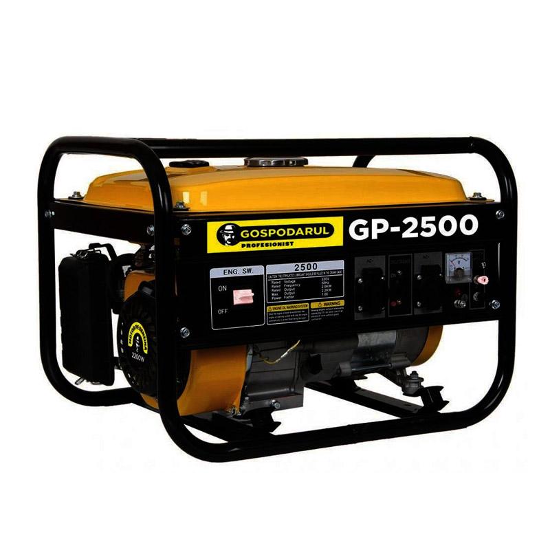 Generator electric pe benzina Gospodarul Profesionist, 2200 W, 15 l, 6.5 CP, 196 CC, motor 4 timpi 2021 shopu.ro