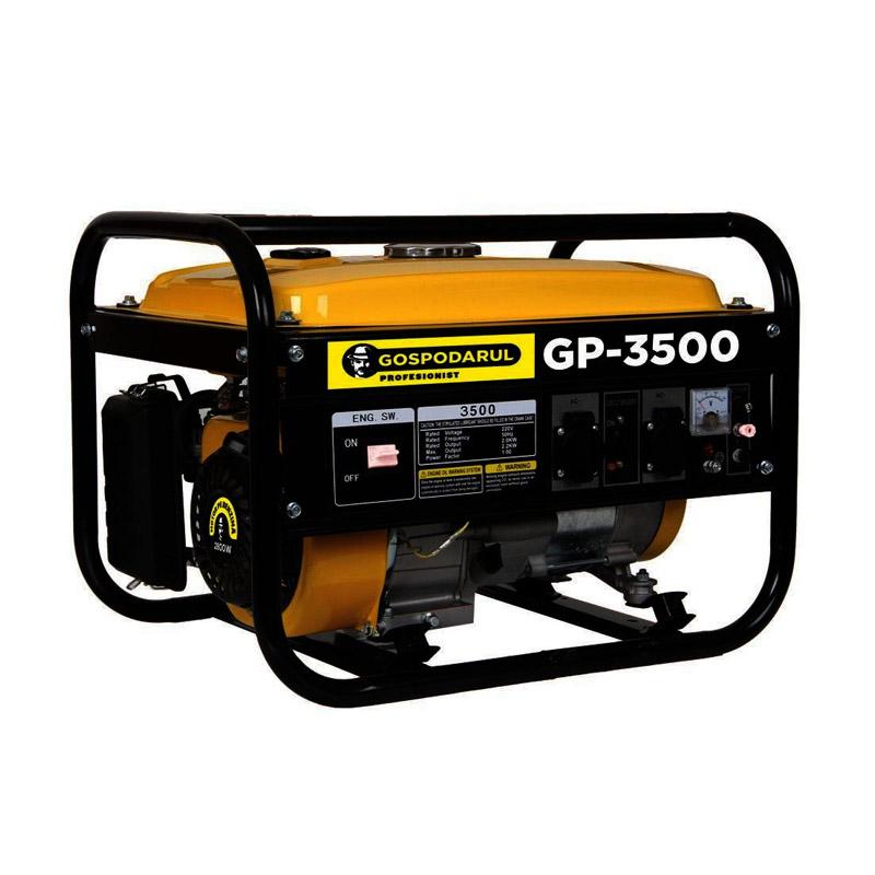 Generator electric pe benzina Gospodarul Profesionist, 2800 W, 15 l, 7 CP, 208 CC, motor 4 timpi 2021 shopu.ro