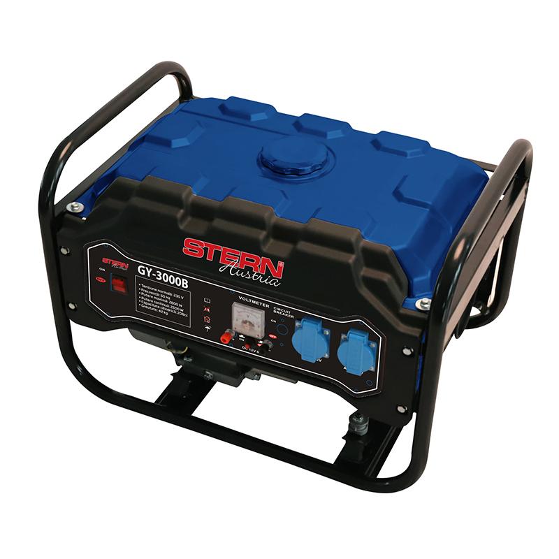 Generator Stern, 3000 W, 6.5 CP, benzina, 15 l, 4 timpi 2021 shopu.ro