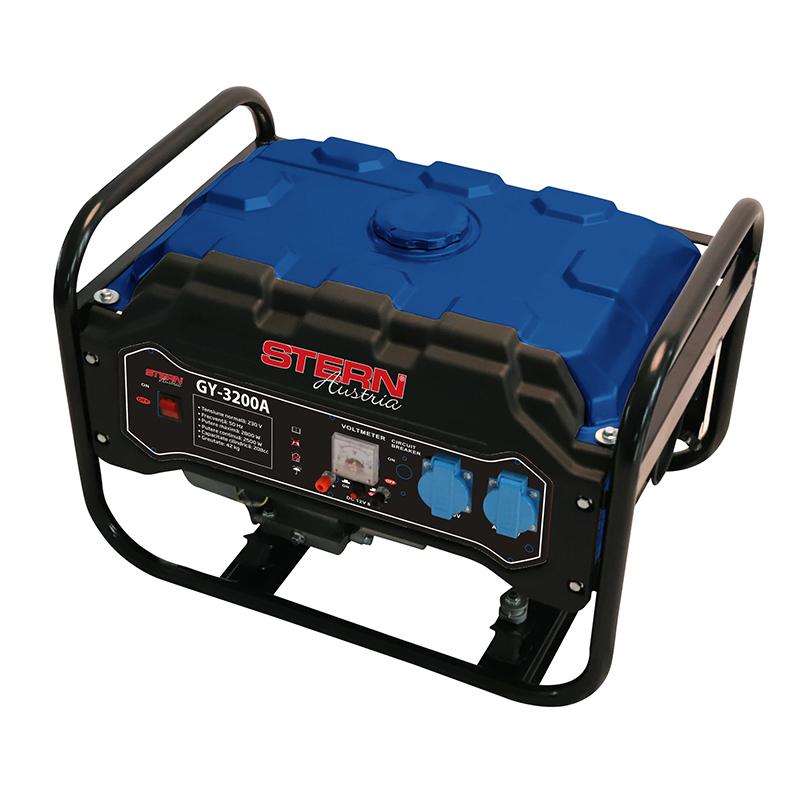 Generator Stern, 3200 W, 7 CP, benzina, 15 l, 4 timpi 2021 shopu.ro