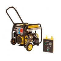 Generator open-frame Stager, 8 kW, 19 CP, 3000 rpm, 22 l, 720 x 540 x 595 mm, trifazat, benzina, automatizare, autonomie 5 ore