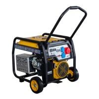 Generator open-frame Stager, 8 kW, 19 CP, 3000 rpm, 720 x 540 x 595 mm, trifazat, benzina, pornire electrica