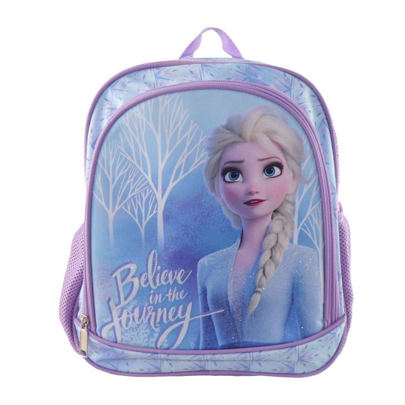 Ghiozdan fete Ana Frozen, 27 x 8 x 32 cm, bretele ajustabile