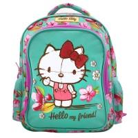 Ghiozdan fetite Hello Kitty, 30 cm, Multicolor
