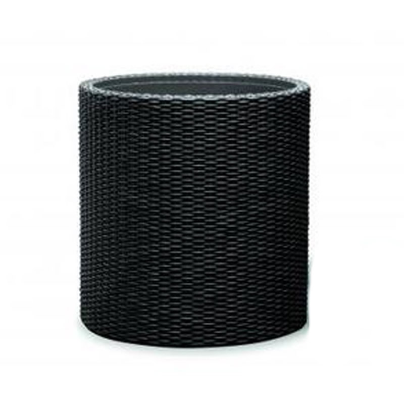 Ghiveci din plastic Curver, pentru exterior, D 36 cm, negru 2021 shopu.ro