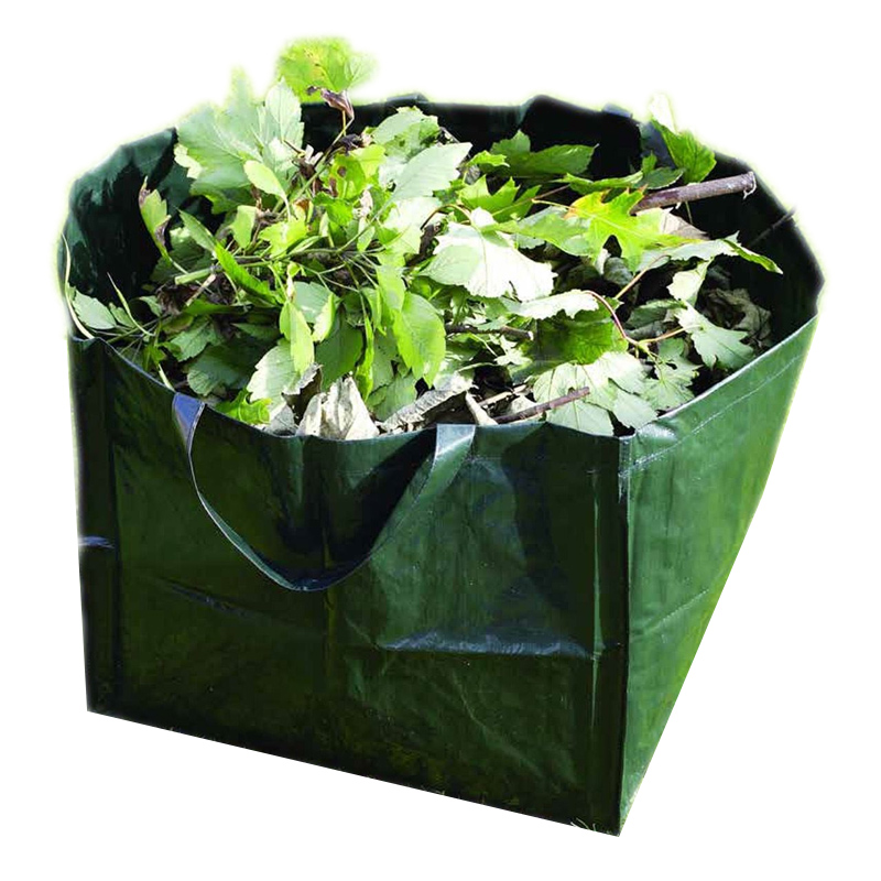 Ghiveci reutilizabil tip sacosa, 7 l, suporta 15 kg, Verde 2021 shopu.ro