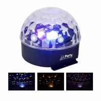 Glob de lumini Party Astro LED, RGBYP, 6 x 1 W