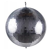 Glob disco pentru petreceri Mirror Ball, diametru 36 cm, Argintiu