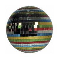 Glob disco pentru petreceri Mirror Ball cu motor, diametru 36 cm