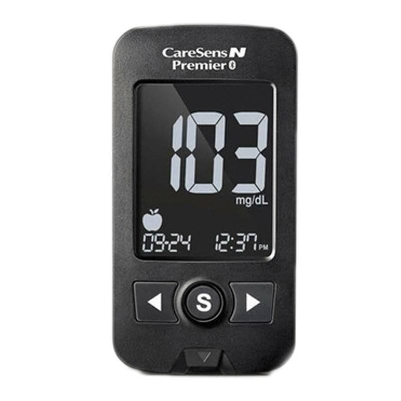 Glucometru CareSens N Premier, rezultat 5 secunde, indicator hipoglicemie, 10 teste, 10 ace incluse 2021 shopu.ro