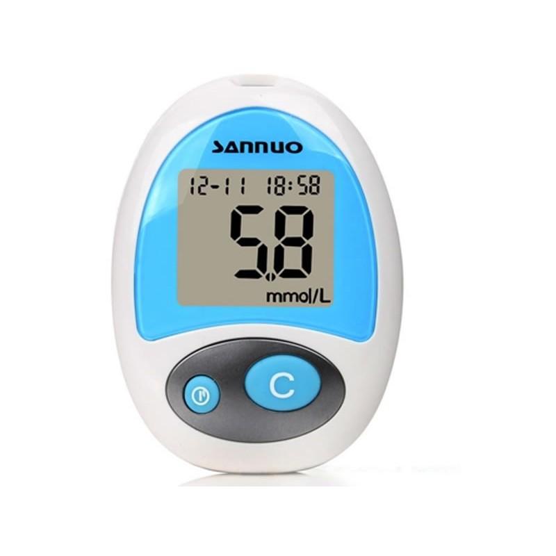 Glucometru Sannuo, LCD, memorie 150 testari 2021 shopu.ro