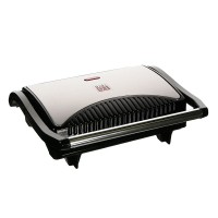 Gratar tip grill Digi 0.1, 700 W, LED, Argintiu/Negru