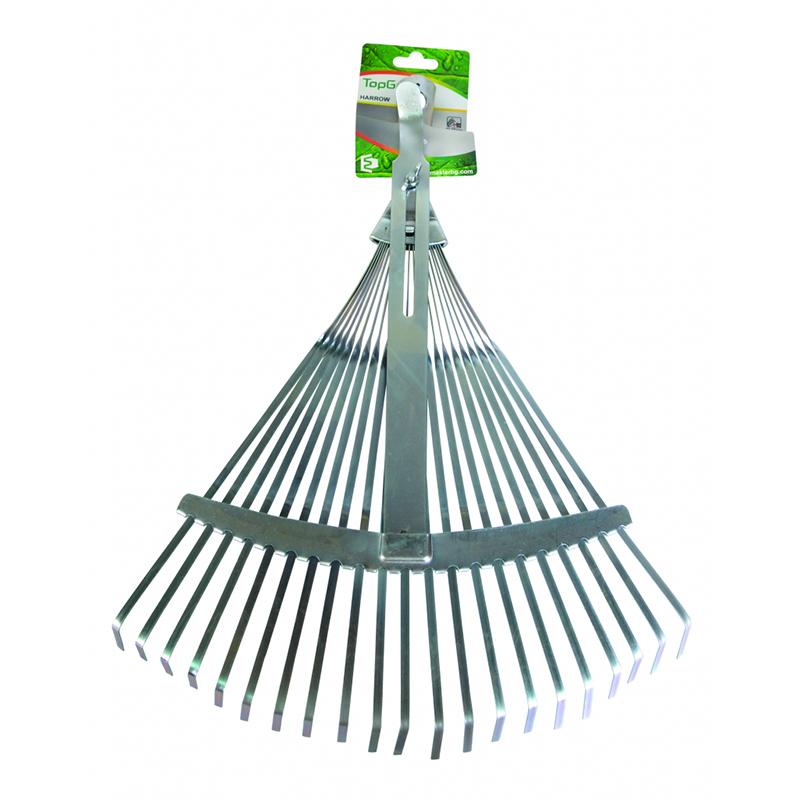 Grebla pentru frunze Top Garden, 21T, maner aluminiu 2021 shopu.ro