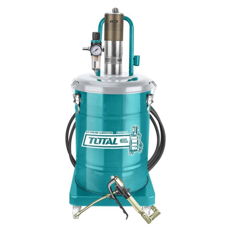 Gresor pneumatic Total Pneumatic, 30 l, 8 bar, 850 g/min, regulator admisie