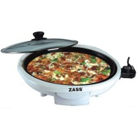 Grill electric pentru pizza Zass ZPP 01, 150W, 34 cm