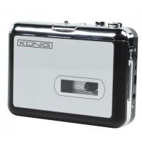 Convertor caseta la MP3 Konig, USB, Gri