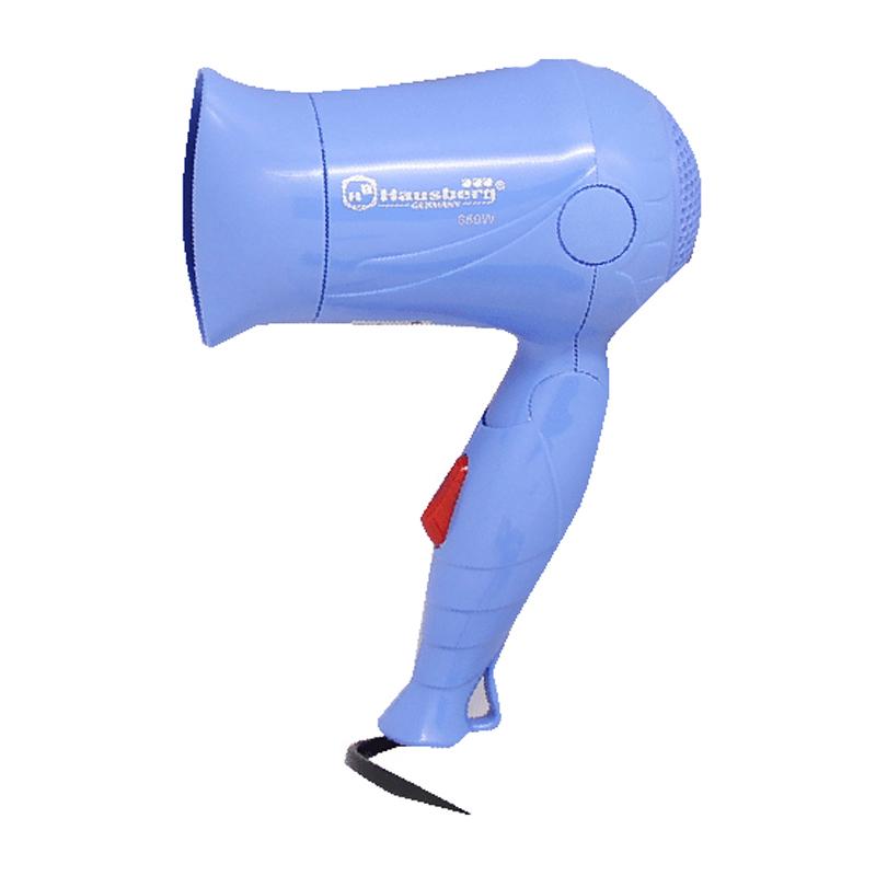 Uscator de par Hausberg, 850 W, Albastru 2021 shopu.ro