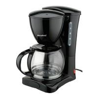 Filtru de cafea HB 3700 Hausberg, 1.2 l, 1200 W, Negru