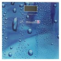 Cantar digital Hausberg, 150 kg, LCD, Albastru