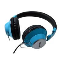 Casti retro DJ Maxell, jack 3.5 mm, Albastru