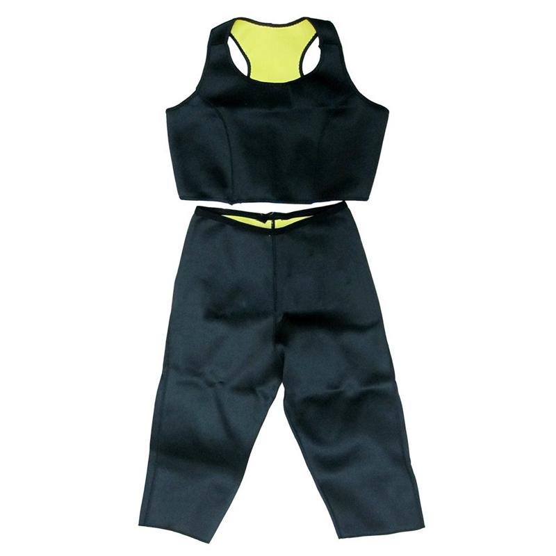 Set bustiera si pantaloni fitness, marimea S 2021 shopu.ro