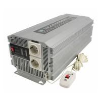 Invertor tensiune HQ, 2500 W, 12-230 V