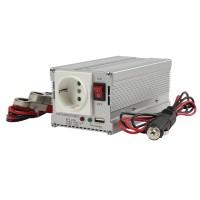 Invertor tensiune HQ, 300 W, 12-230 V, USB