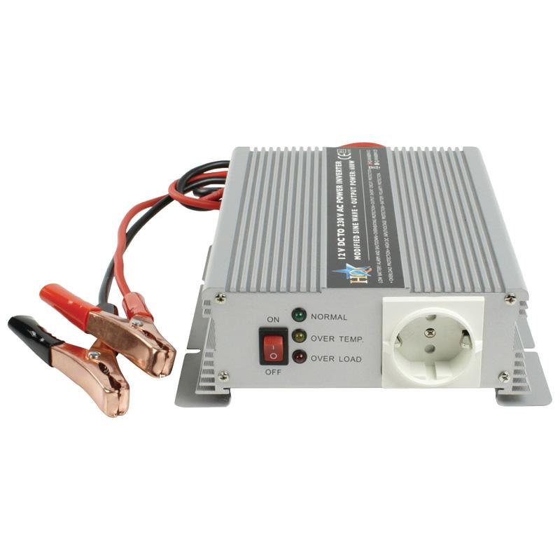 Invertor tensiune HQ, 12-230 V, 1500 W 2021 shopu.ro
